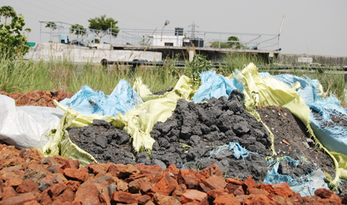 Illegal Dumping of Sludge at Coca-Cola Bottling Plant